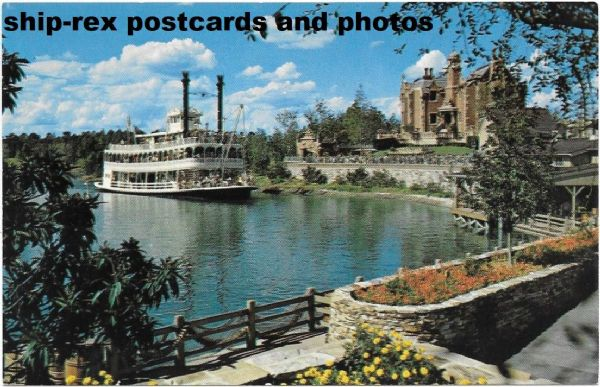 ADMIRAL JOE FOWLER (Walt Disney World) postcard (a)